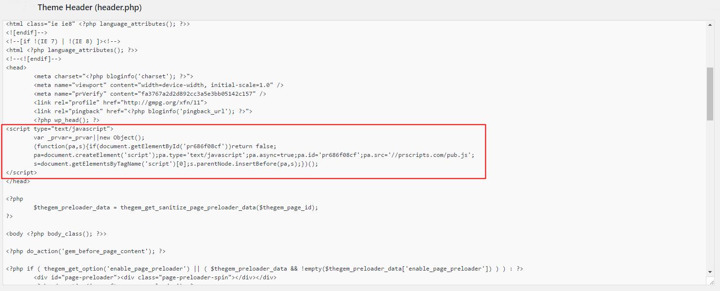integracion-libreria-plugrush-header-script
