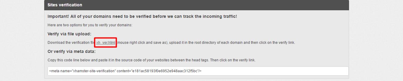 anadir-web-y-verificar-web-con-archivo-html-xhamsters