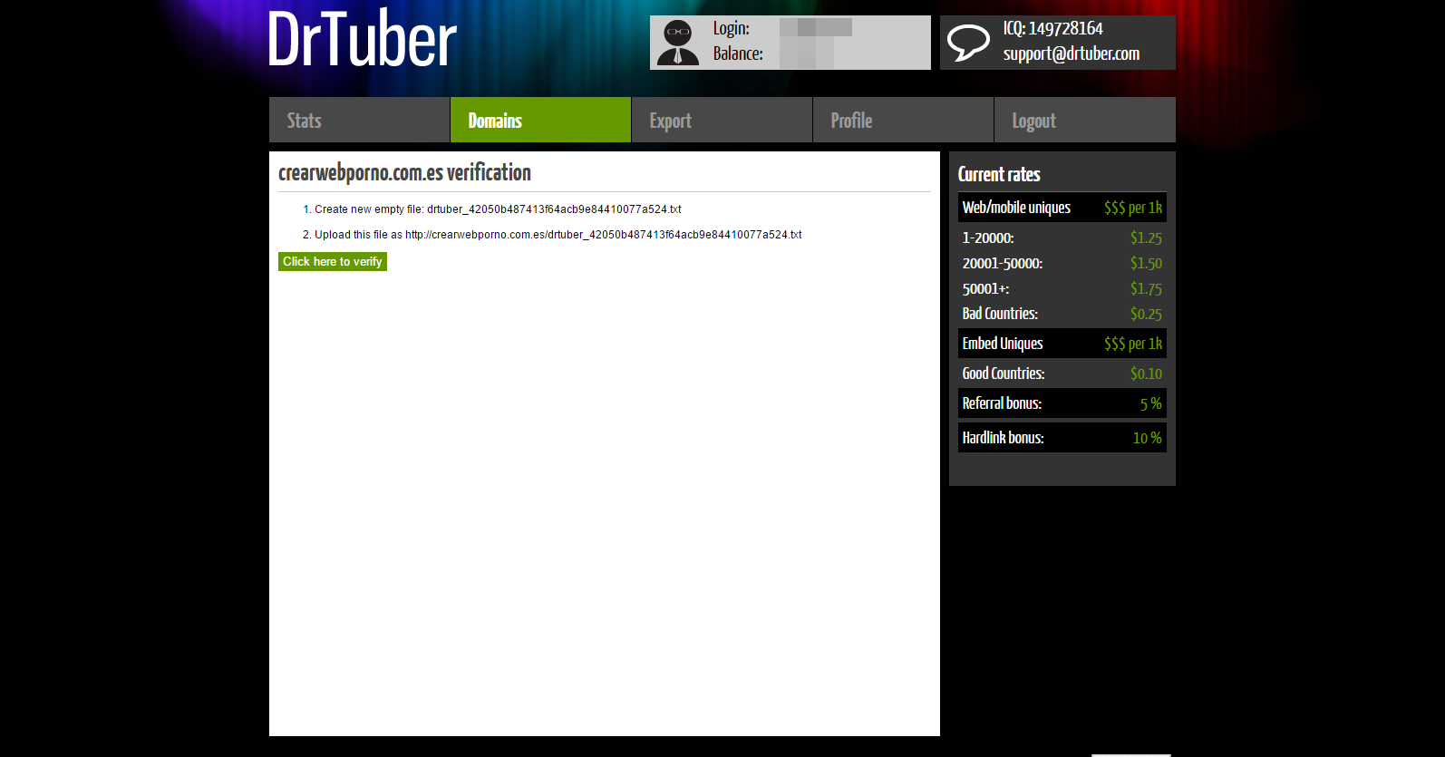 drtuber-verificacion-web