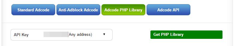 libreria-php-popads